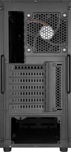 "Silverstone Precision Series PS14 Black Window Case,USB, 3.0, 2x 2.5"" drive bays, 5.25"" bay, supports 7 expansion slot, supports ATX/Micro ATX 