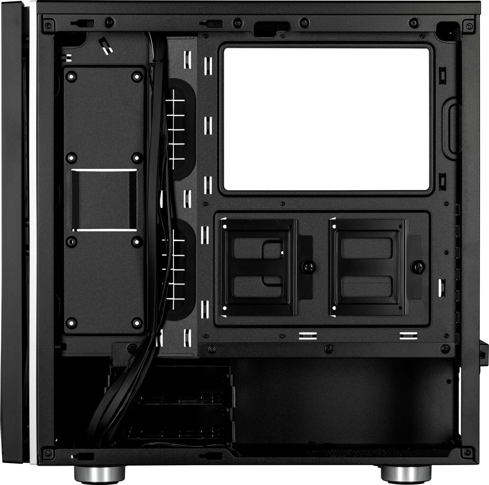 Corsair Carbide SPEC-06 RGB Tempered Glass ATX Mid-Tower Computer Case —  Black   CC-9011146-WW
