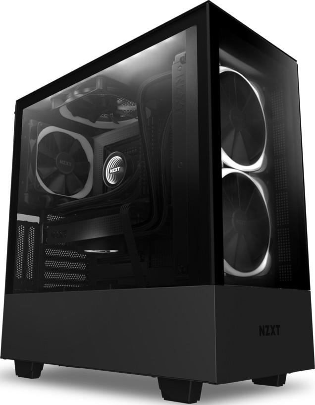 Nzxt H510 Elite Rgb Atx Mid Tower Case Tempered Glass