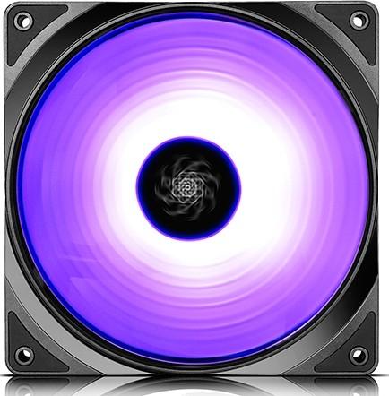 DEEPCOOL CF140, Customizable Addressable RGB LED Lighting, MB SYNC by 5V A  RGB Header, SYNC with oth